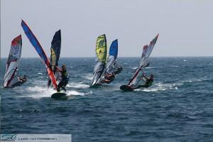 funboard slalom windsurf
