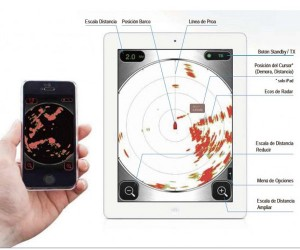 radar furuno smartphone tablet