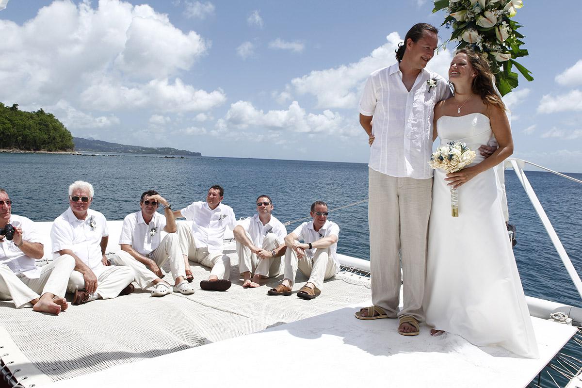 casarse en un barco