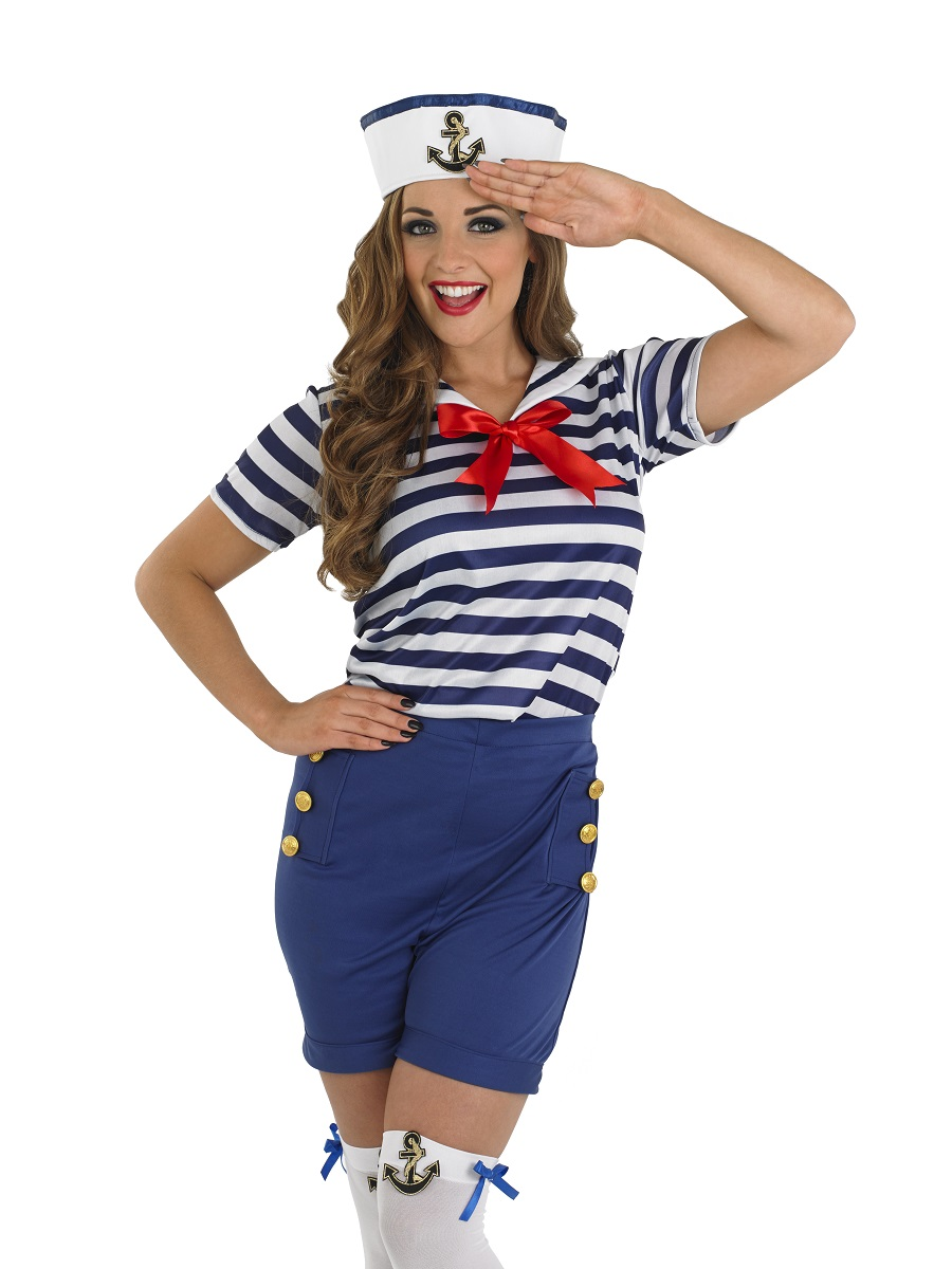 disfraz marinera mujer